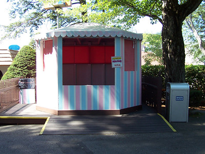 The new Kiddieland concession stand.
