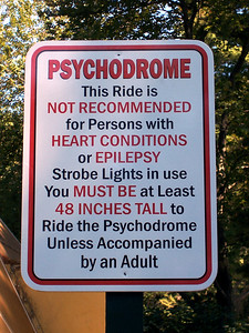 A new Psychodrome sign.