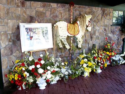A memorial for Tom Morrow.