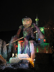 Pumpkin King. (Blurry.)