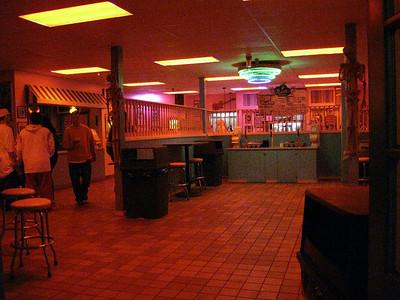 Inside the Parkside Diner.
