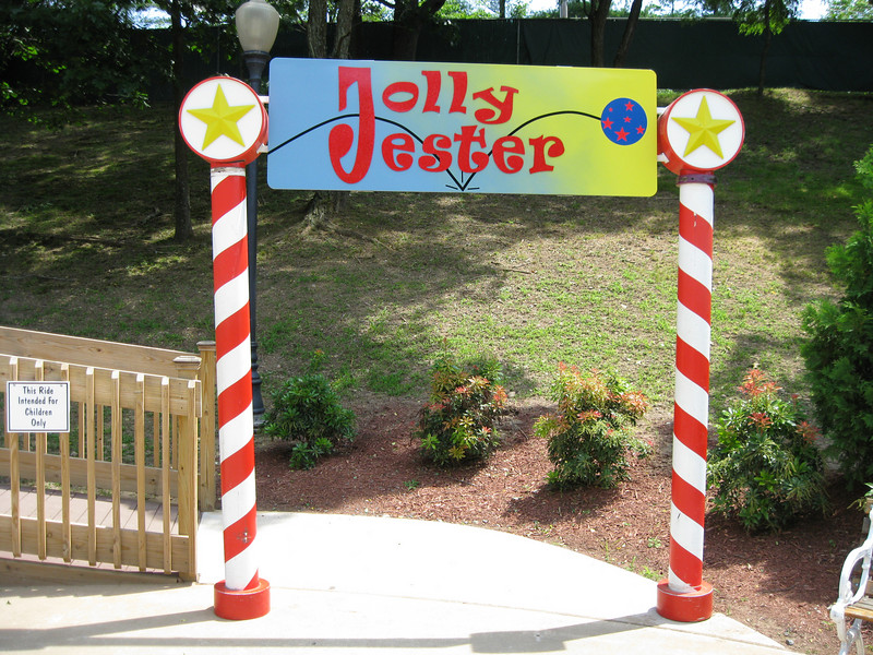 The new Jolly Jester ride.