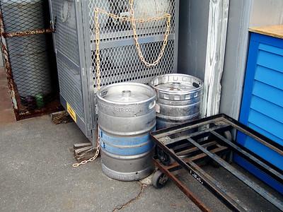 Kegs for sweet, sweet beer.
