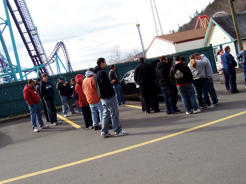 LakeCompounce.org off-season tour, Sunday, March 22, 2009.