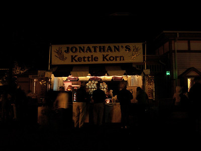 Kettle Korn stand.