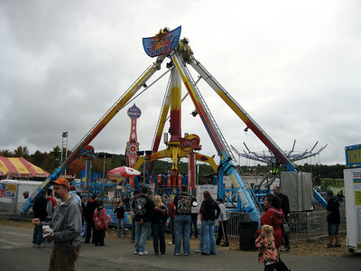 I visited the Deerfield Fair on Sunday, October 4, 2009.