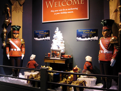 The Enchanted Village is a collection of animatronic displays.