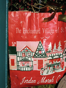 I visited the Enchanted Village attraction at Jordan's Furniture in Avon on January 16, 2010. The photos in this album are dedicated to the public domain.