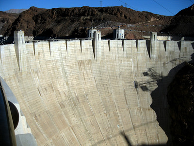 The Hoover Dam.