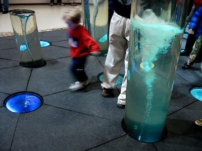 Tornado things inside the mall.