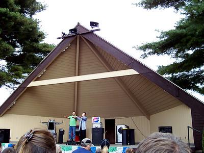 Jason Hudy again performed his magic show.