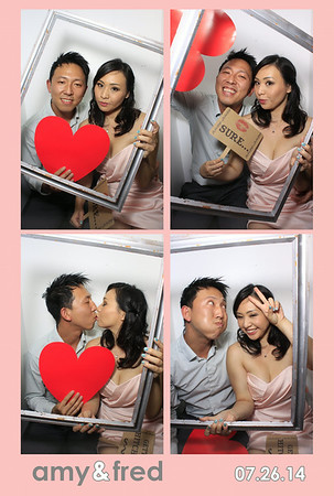Amy + Fred (Luxe Photo Booth)