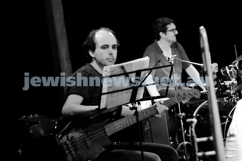 29-1-18. Amy Winehouse - A Tribute. Rehearsals at Bakehouse Studios, Richmond. Photo: Peter Haskin