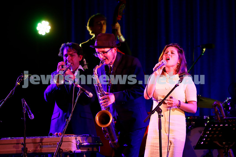 4-2-18. Amy Winehouse - A Tribute . Memo Music Hall, St Kilda. Photo: Peter Haskin