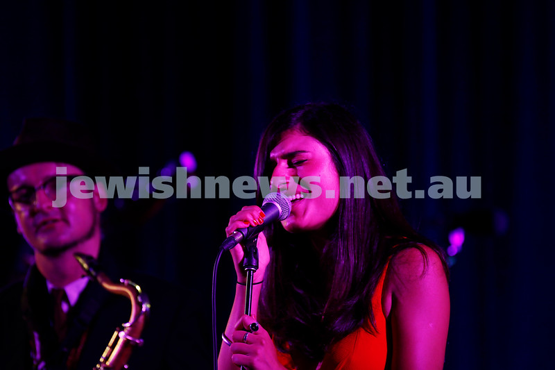 4-2-18. Amy Winehouse - A Tribute . Memo Music Hall, St Kilda. Rita Satch. Photo: Peter Haskin