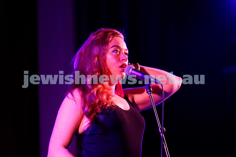4-2-18. Amy Winehouse - A Tribute . Memo Music Hall, St Kilda. Loretta Miller. Photo: Peter Haskin