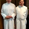 Altar Servers at Allison and Mike's wedding - 7/7/17