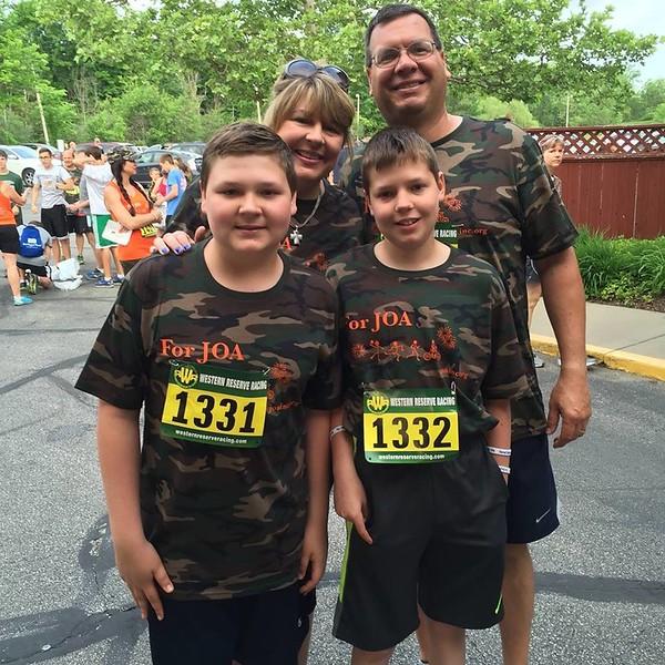 John Owen's Adventure - Charity 5k/10k Camo Run June 28, 2015