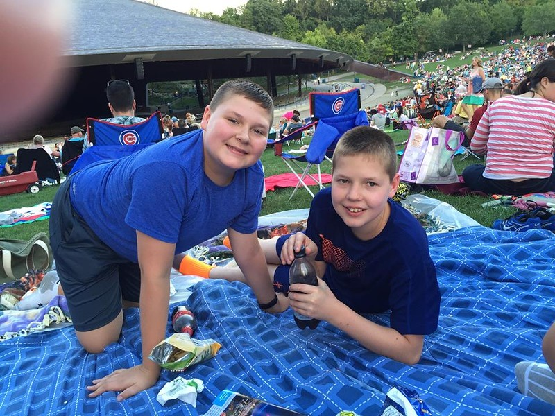 Sept 5 2015 - Cleveland Orchestra - Jaws, Jurrassic Park, Indiana Jones concert at Blossom