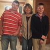 Nick, Amy and Frankie -- Thanksgiving, November 23,  2017 in Wapakoneta, OH