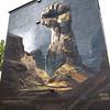 2018, Iceland, Reykjavik, mural