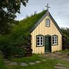 2018, Iceland, Hofskirkja, the last turf church in Iceland
