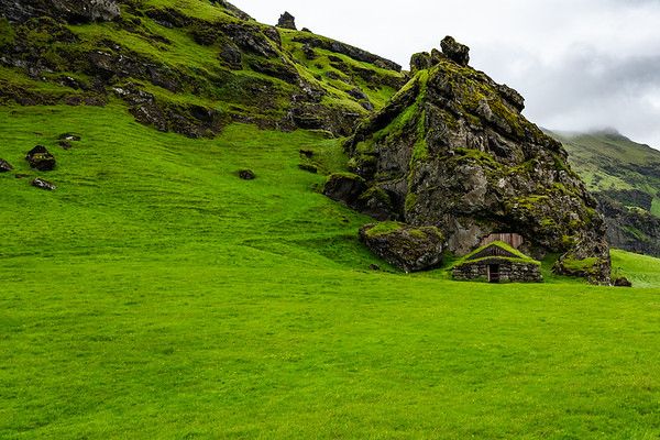 2018, Iceland, on the road to Skogafoss waterfall
