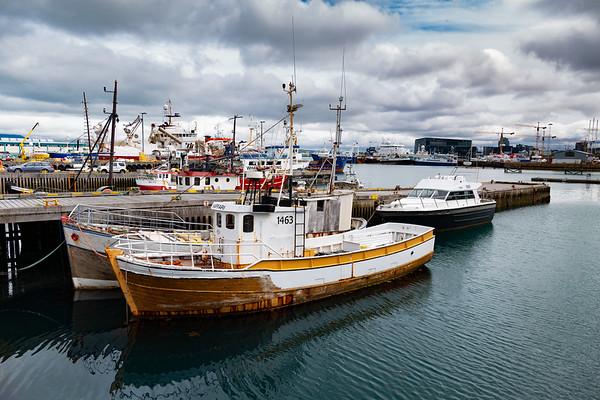 2018, Iceland, Reykjavik, harbor