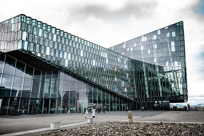 2018, Iceland, Reykjavik, Harpa Concert Hall