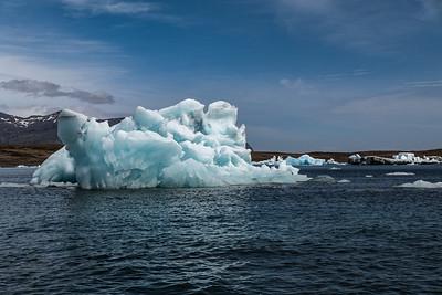 2018, Iceland, Jokulsarlon Glacial Lagoon