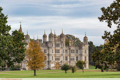 An Autumn walk at Burghley House