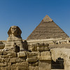 2011, Egypt, Giza Pyramid Complex, Great Pyramid and Great Sphinx
