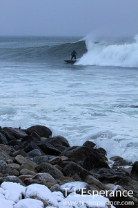 Matt Hatcher Surfing Winter Right.