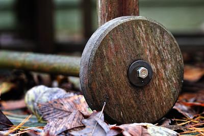 Wood Wheel November 5, 2009