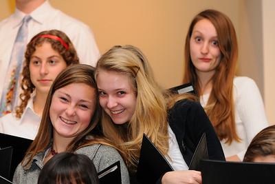 Youth Choir Sillyness January 21, 2009