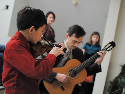 Father & Son Strings January 25, 2010
