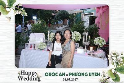 Quốc An & Phương Uyên Wedding Photobooth