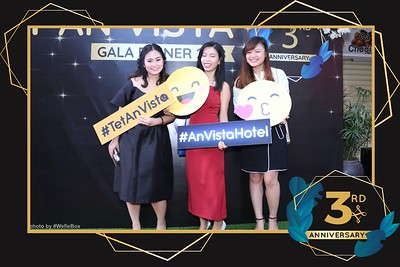 An Vista Hotel Nha Trang - 3rd Anniversary Photo Booth - Chụp hình in ảnh lấy ngay Sự kiện tại Nha Trang