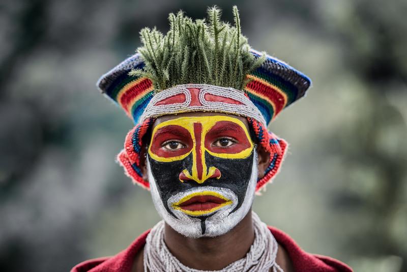 Kunai cultural man