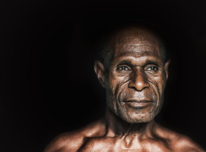 Kanganamun man in Sepik