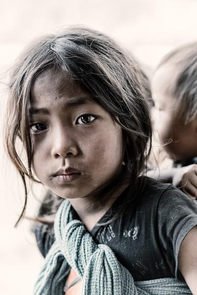 Eyes of a Konyak girl