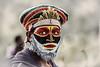 Young Kunai tribes man