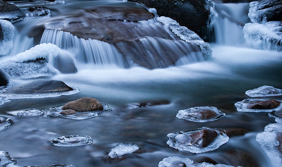 Frozen Motion Coffee Creek BC