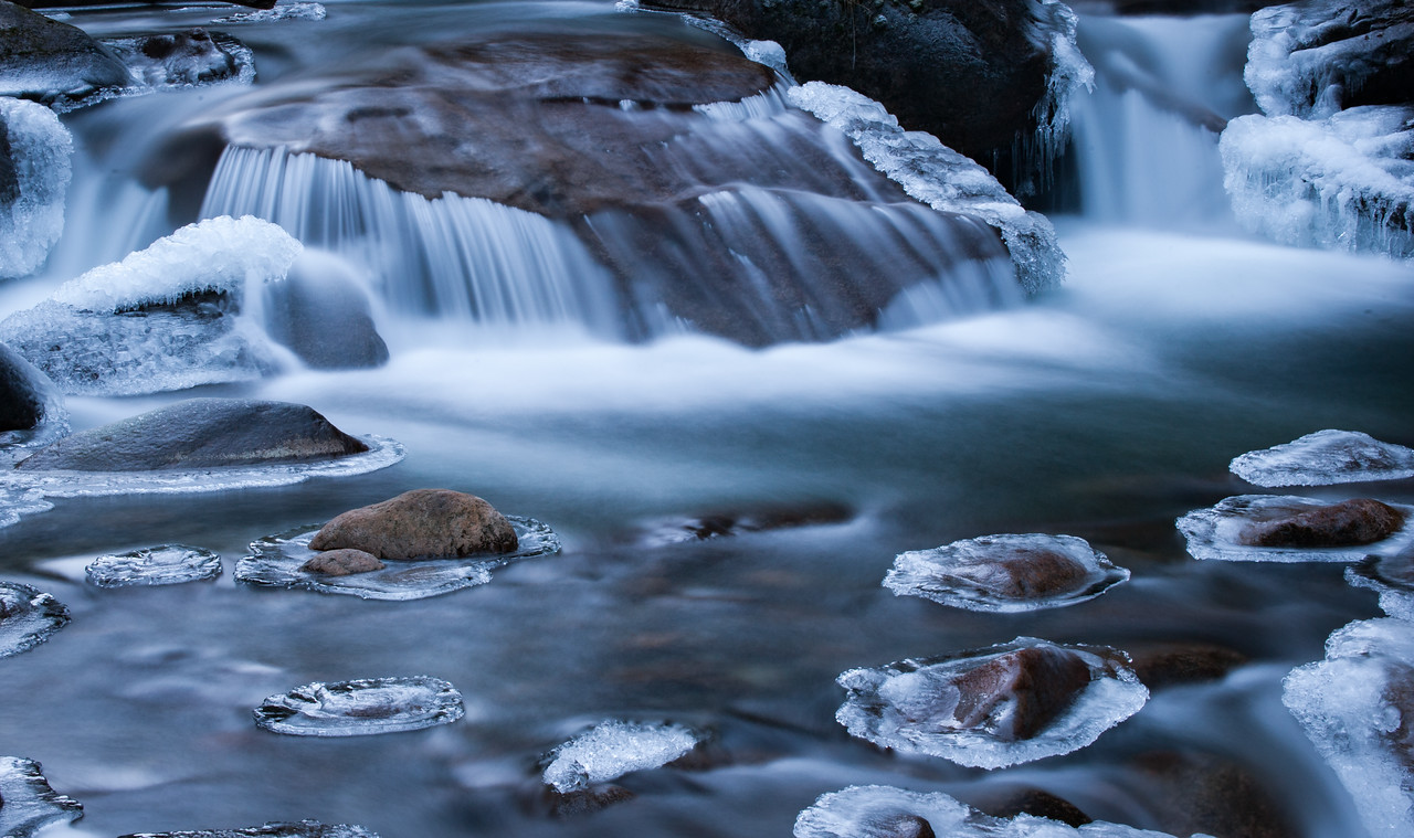 Frozen Motion<br /> Coffee Creek BC