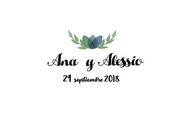 Ana & Alessio - 29 septiembre 2018