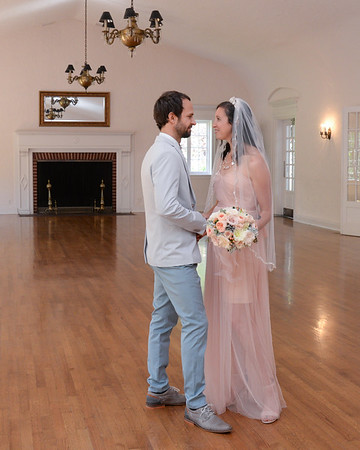 Ana and Justin Bingham ceremony