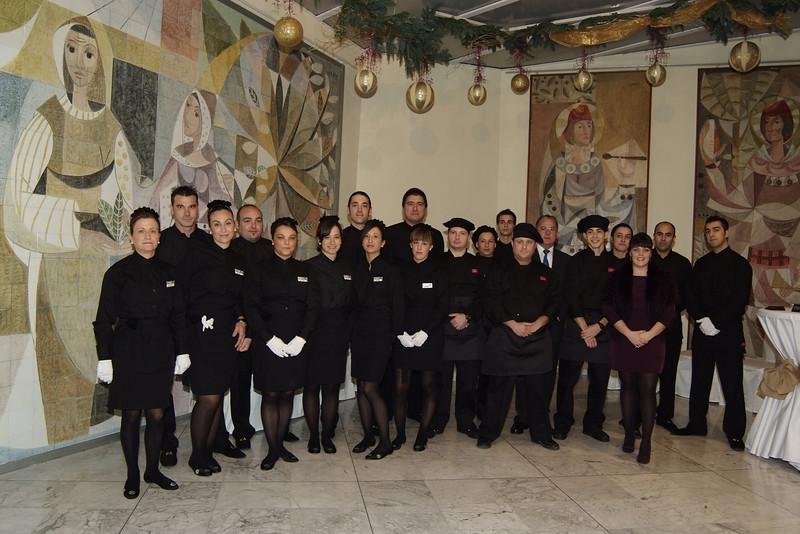 Inauguración Catering de Ana ,16-12-09 Camara de Comercio