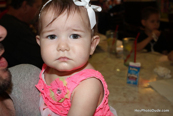 Anabelle's first birthday
