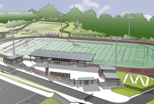Anacortes Football Stadium...Jim Rice Field