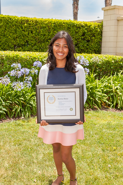 Karina Bataz, Teen Halo Award Winner